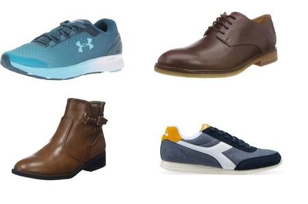 Chollos en tallas sueltas de zapatillas, zapatos y botines de marcas como Diadora, Xti, Under armour o Clarks por menos de 22 euros en Amazon