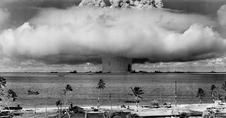 Atomic Bomb Beach Black And White 73909