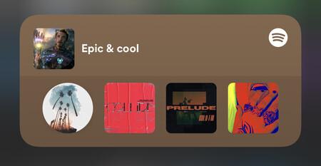 Spotify estrena sus widgets para iOS 14 y iPadOS 14