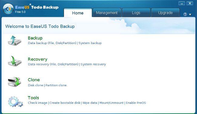 Easeus Todo Backup Free 5.0, la nueva versión del gestor de copias de seguridad