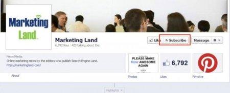 """Facebook podría lanzar pronto la posibilidad de """"suscribirse"""" a las páginas, ¿problema para las marcas?"""