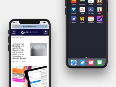 19 ejemplos para ver cómo sería el iPhone 8 con iOS 11 y las aplicaciones más populares