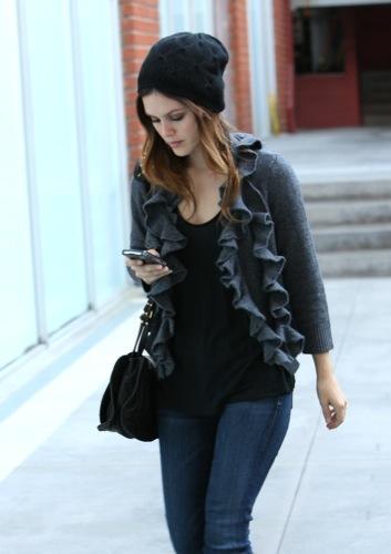 Rachel Bilson nos enseña el look de moda I