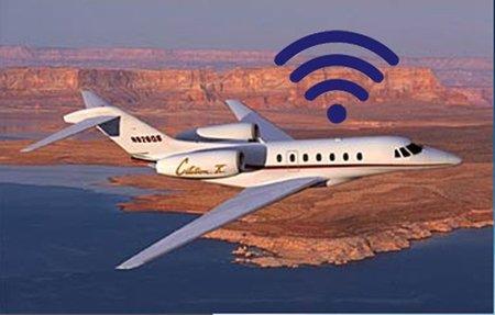 Netjets equipará 250 de sus aviones privados con servicio Internet de alta velocidad