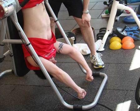 lesiones más habituales al hacer abdominales