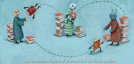 Intercambio de libros en la web