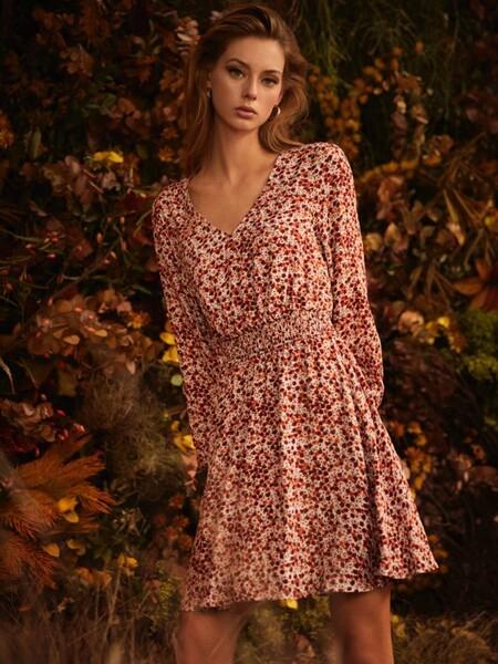 lefties vestidos flores otoño invierno 2020 2021