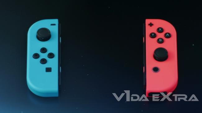 Nintendo Switch Mando Colores