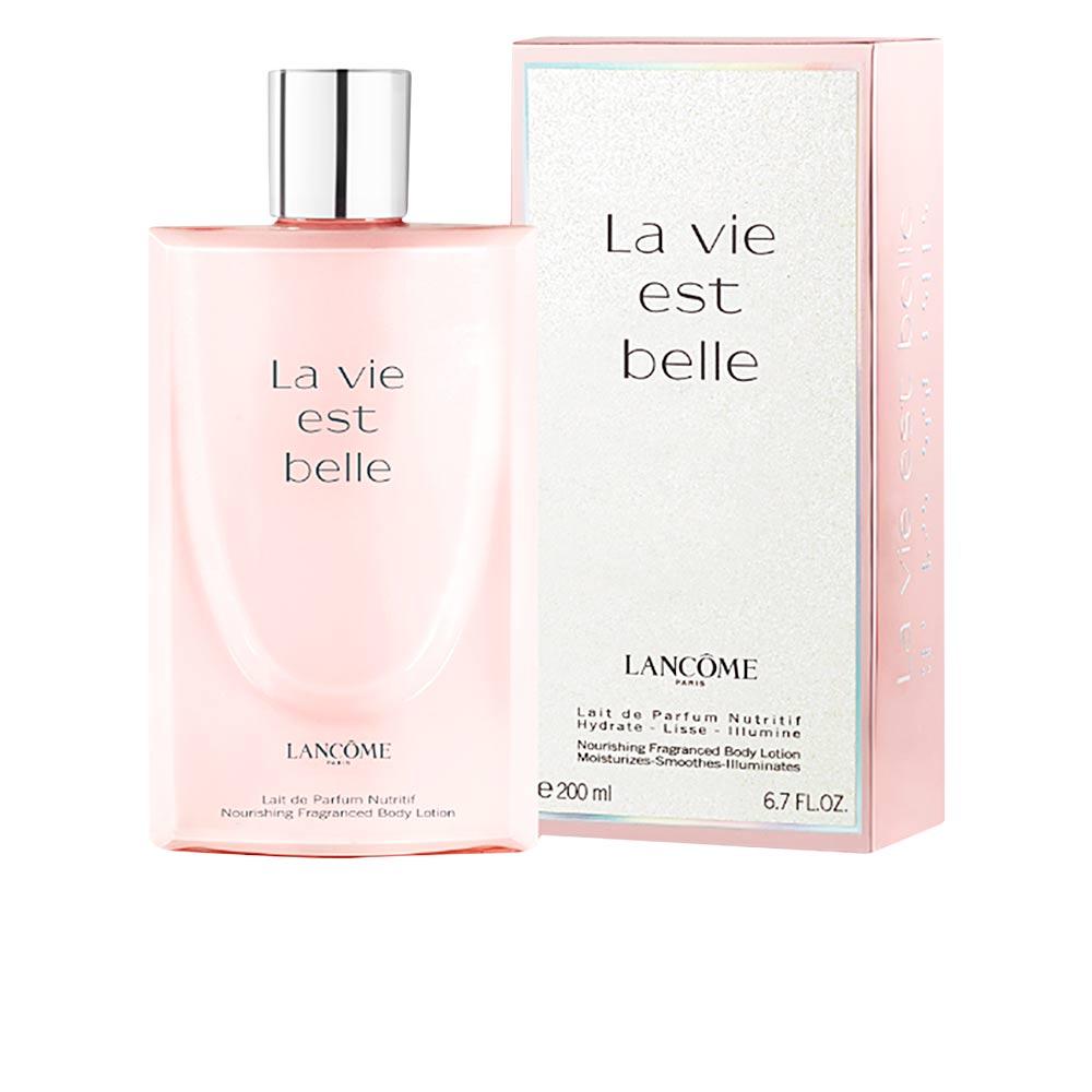 La Vie est Belle lait de parfum nutritif de Lancôme