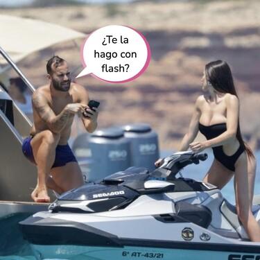 Jesé Rodríguez, pillado en Ibiza con una morena muy sexy que no es Aurah Ruiz: estas son todas las fotos