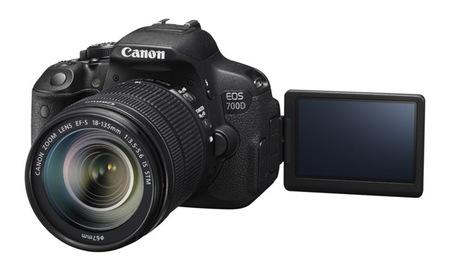 Canon EOS 700D con pantalla abatible