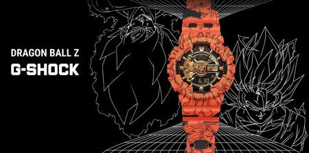 Este increíble reloj G-SHOCK edición limitada de Dragon Ball Z es toda una pieza de colección por parte de Casio