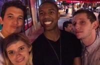 """El """"selfie"""" de los 4 Fantásticos"""