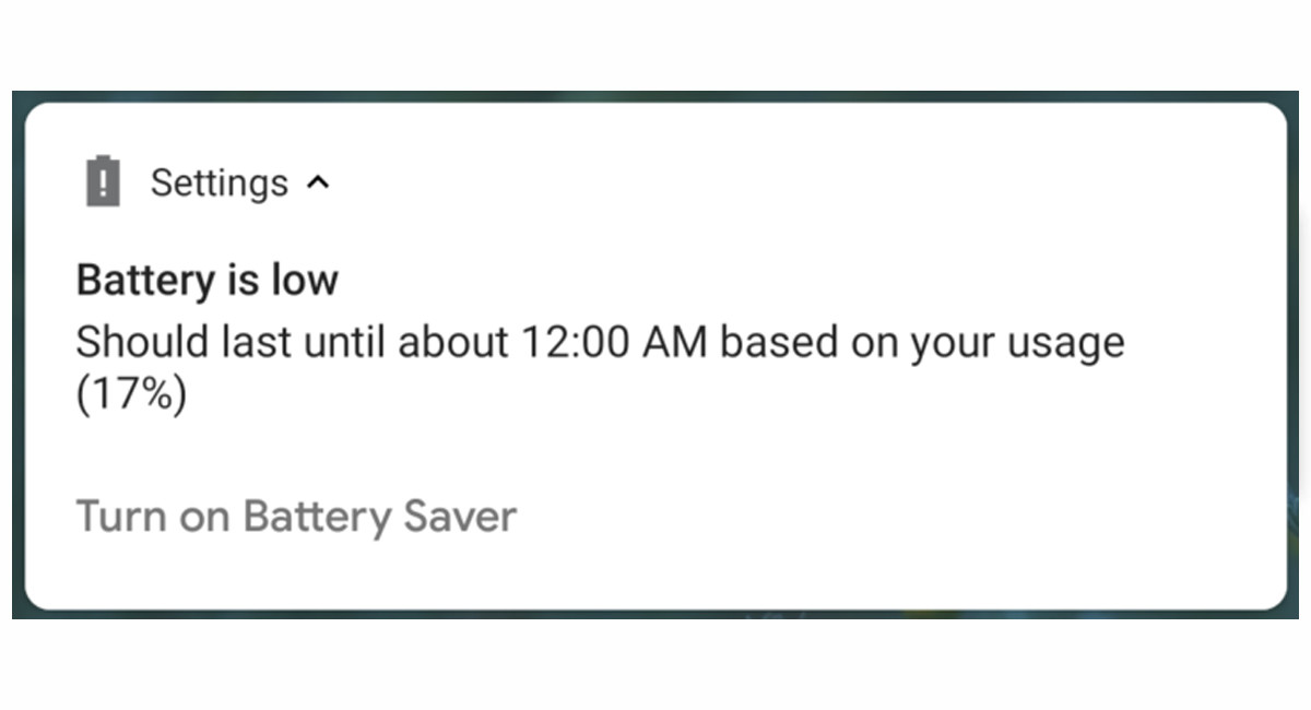 How they point in Android Police, Android P will warn us the approximate time in which the battery will run out.