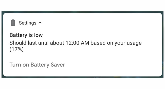 Android P hour battery exhausted