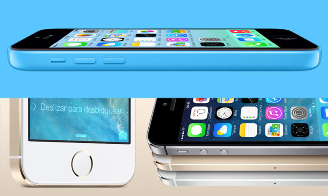 iPhone 5s, iPhone 5c e iOS 7