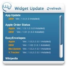 Widget Watch busca actualizaciones de tus widgets