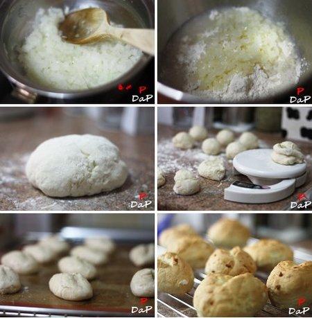 Pasos para hacer pan de cebolla