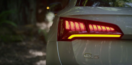 El Audi Q5 2016 muestra sus luces antes de destaparse en París