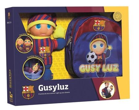 Gusyluz oficial del FC Barcelona por sólo 13,49 euros con mochila de regalo y envío gratis