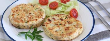 Hamburguesas de merluza: receta saludable