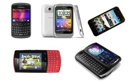 Smartphones de gama media en México para esta navidad
