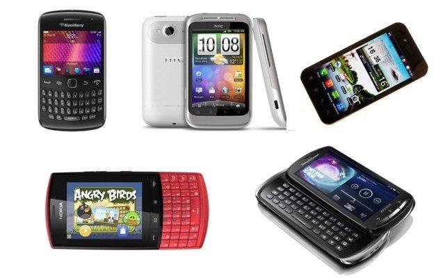 Smartphones de gama media