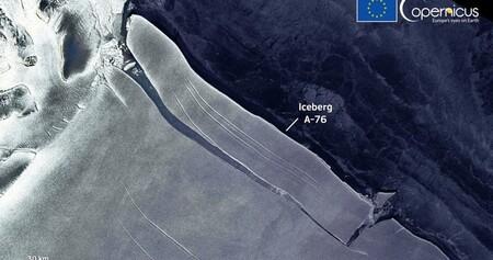 El iceberg más grande del mundo se ha partido en tres trozos (y ya no es el iceberg más grande del mundo)
