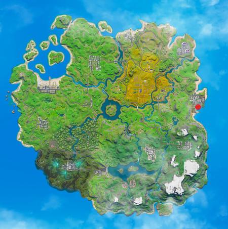 Fortnite Mapa T