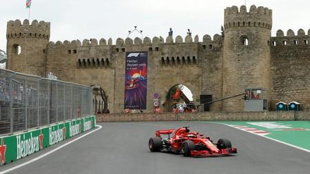Vettel Baku F1
