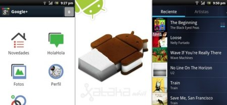 Ice Cream Sandwich, ya puedes probar y descargar alguna de sus aplicaciones