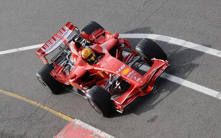 Rossi Ferrari F1