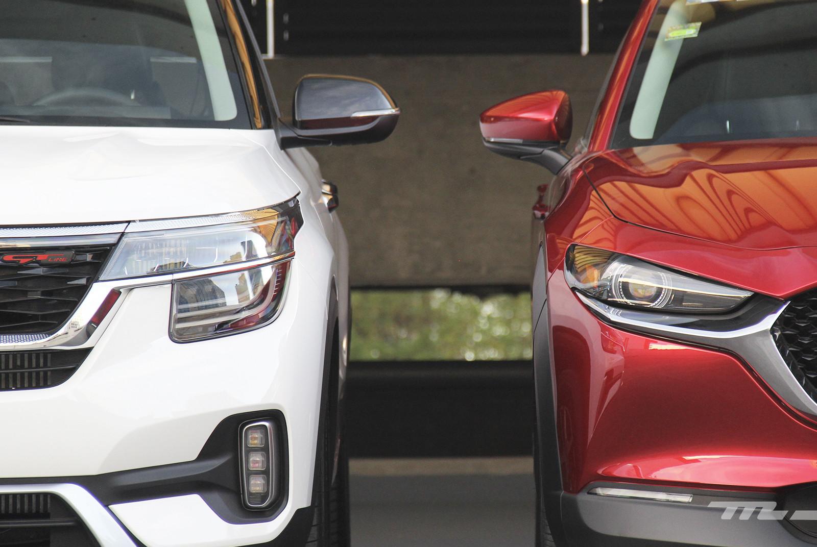 Foto de KIA Seltos vs. Mazda CX-30 (comparativa) (8/32)