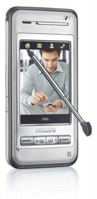 Philips S900, con pantalla táctil