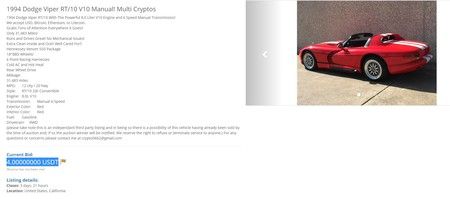coches bitcoin