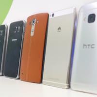 ¿Quién está ganando en la carrera por ofrecer el mejor móvil en 2015?: LG G4 Vs Galaxy S6 Vs M9 Vs P8
