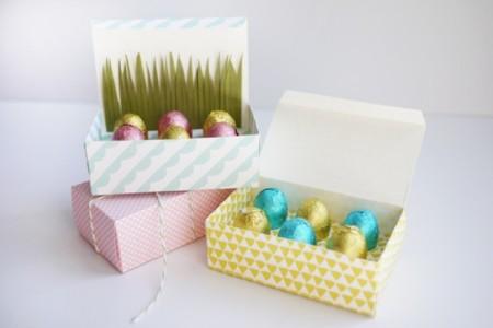 Caja Pascua Regalar Huevos Chocolate Preciosa Diy Para Pequeños De En dCBerWxo