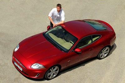 Marc Gasol y su nuevo Jaguar XK