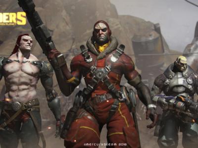 La beta cerrada de Raiders of the Broken Planet da comienzo en PC