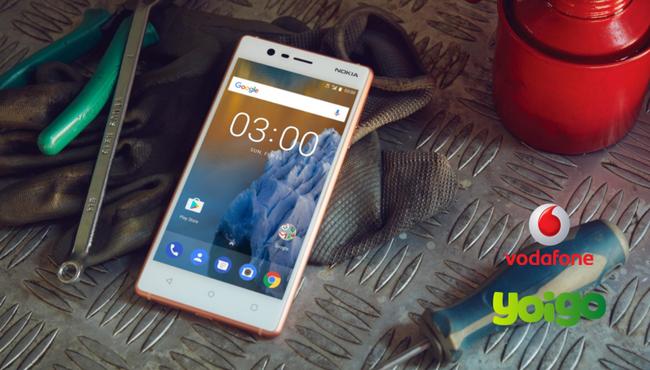Nokia 3 también llega a Vodafone y comparamos su precio con el pago a plazos de Yoigo