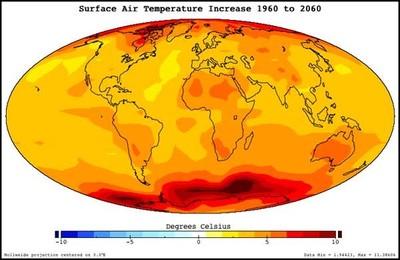 [Vídeo] Seis décadas de Calentamiento Global