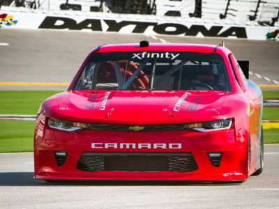 Así es el nuevo Chevrolet Camaro de la NASCAR Xfinity Series: una receta muy de la vieja escuela