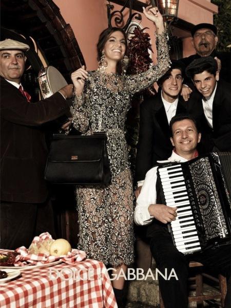 Dolce & Gabbana campaña Otoño-Invierno 2012/2013: la familia se amplía con Bianca Brandolini