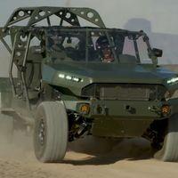 El GM Defense ISV es una versión radical de la Colorado ZR2 que podría formar parte del ejército de EE. UU.