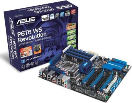 Asus P6T6, con seis PCI-Express x16
