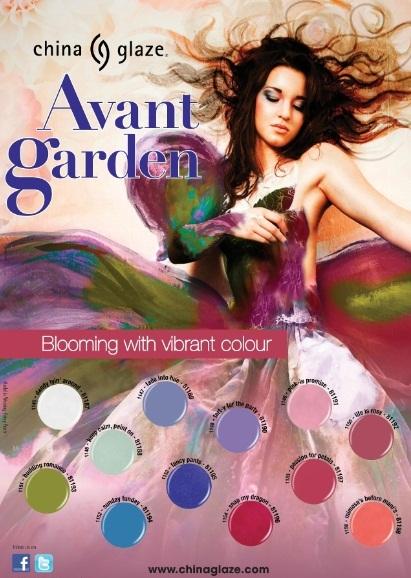 La nueva y primaveral colección de China Glaze para nuestras uñas: Avant Garden