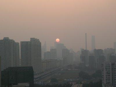 Pekín, donde la contaminación puede hacer que el alcalde se corte la cabeza para cumplir su promesa