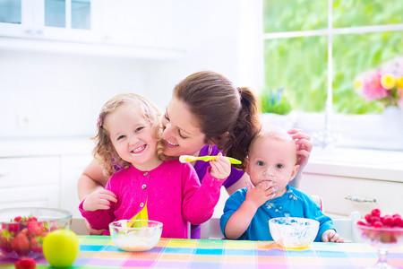 Yogures para niños