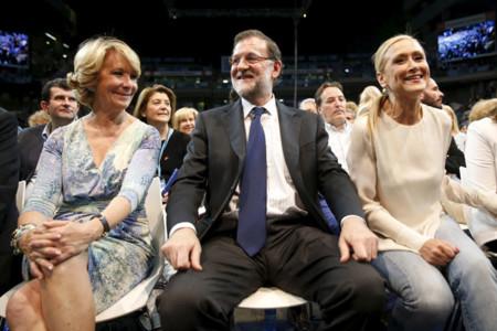 Esperanza Aguirre Cristina Cifuentes Rajoy