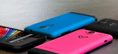 Energy Sistem presenta Colors, su smartphone de 60 euros